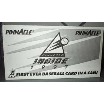 1997 Pinnacle Inside Baseball Case (48 cans)
