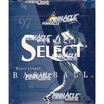 1997 Score Select Baseball Hobby Box