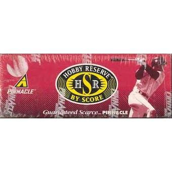 1997 Score Reserve Baseball Hobby Box