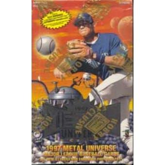 1997 Fleer/Skybox Metal Universe Baseball Hobby Box