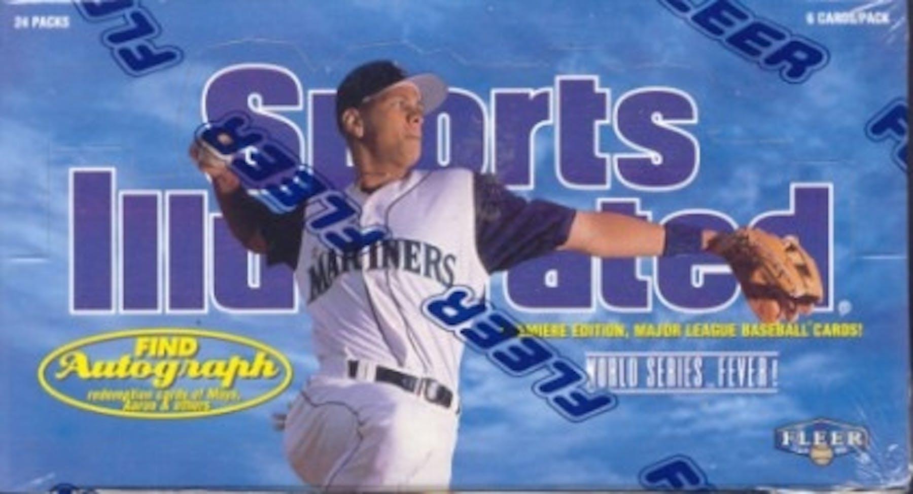 1997 Fleer Sports Illustrated Baseball Hobby Box Da Card World