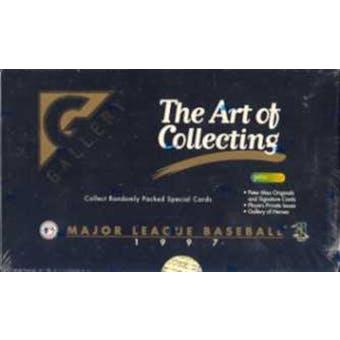 1997 Topps Gallery Baseball Hobby Box