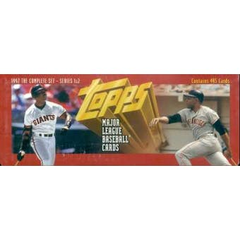 1997 Topps Baseball Retail Factory Set (Red)