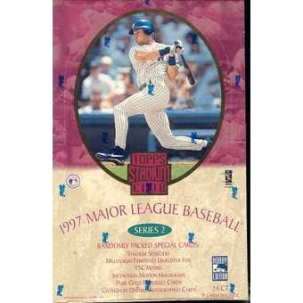 1997 Topps Stadium Club Series 2 Baseball Hobby Box