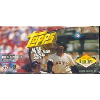 1997 Topps Series 1 Baseball Jumbo Box