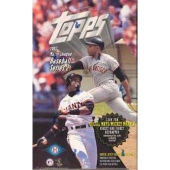 1997 Topps Series 2 Baseball Hobby Box