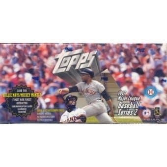 1997 Topps Series 2 Baseball Jumbo Box