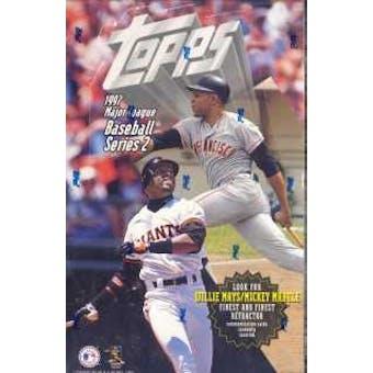 1997 Topps Series 2 Baseball 36 Pack Box