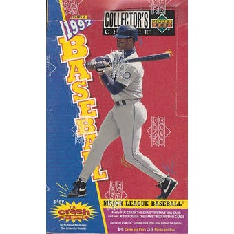 1997 Upper Deck Collector's Choice Series 2 Baseball Hobby Box