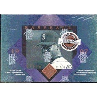 1997 Upper Deck SP Authentic Baseball Hobby Box