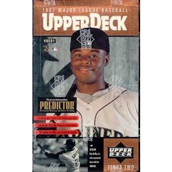 1997 Upper Deck Series 2 Baseball Hobby Box