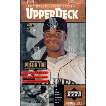 1997 Upper Deck Series 2 Baseball Hobby Box