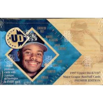 1997 Upper Deck UD3 Baseball Hobby Box