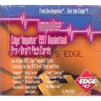 1997/98 Collector's Edge Impulse Basketball Hobby Box