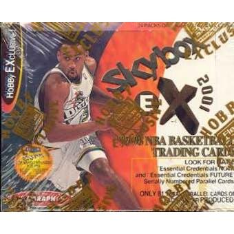 1997/98 Fleer EX-2001 Basketball Hobby Box