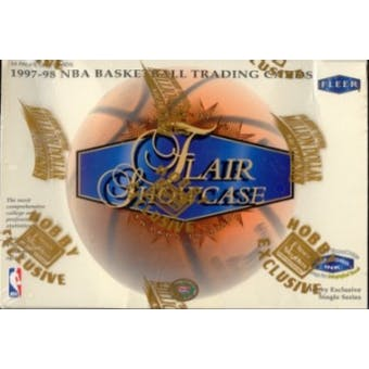 1997/98 Fleer Flair Showcase Basketball Hobby Box