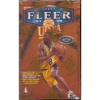 1997/98 Fleer Ultra Series 1 Basketball Hobby Box