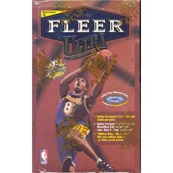 1997/98 Fleer Ultra Series 2 Basketball Hobby Box