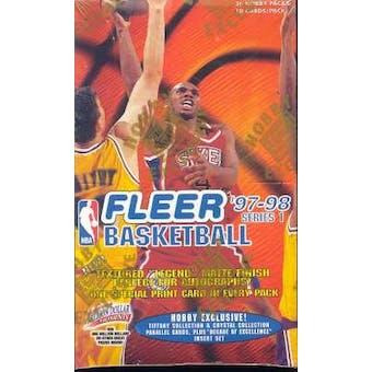 1997/98 Fleer Series 1 Basketball Hobby Box