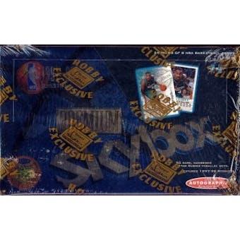 1997/98 Skybox Premium Series 2 Basketball Hobby Box