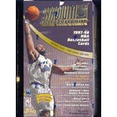 1997/98 Topps Stadium Club Series 2 Basketball Hobby Box
