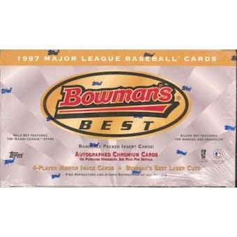 1997 Bowman's Best Baseball 24 Pack Box