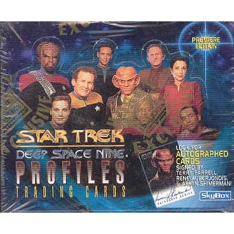 Star Trek Deep Space Nine Profiles Hobby Box (1997 Fleer)