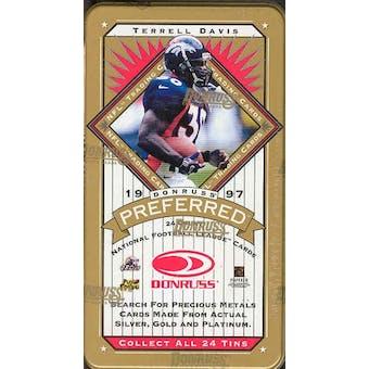 1997 Donruss Preferred Football Hobby Box