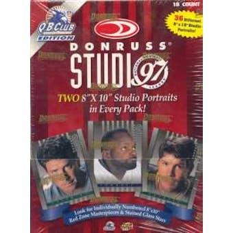 1997 Donruss Studio Football Hobby Box
