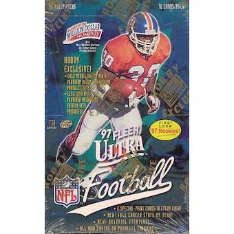 1997 Fleer Ultra Series 1 Football Hobby Box