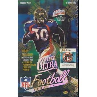 1997 Fleer Ultra Series 2 Football Hobby Box
