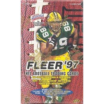 1997 Fleer Football Hobby Box