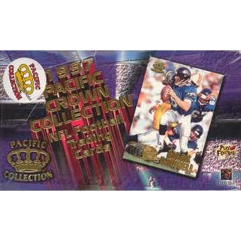 1997 Pacific Football Hobby Box