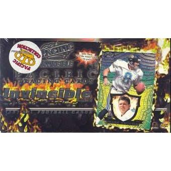 1997 Pacific Invincible Football Hobby Box
