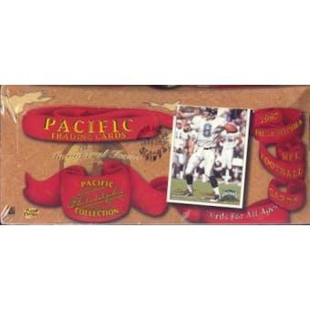 1997 Pacific Philadelphia Football Hobby Box
