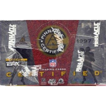 1997 Pinnacle Certified Football Hobby Box