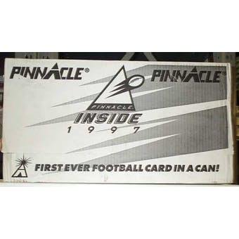 1997 Pinnacle Inside Football Case (48 cans)