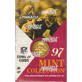 1997 Pinnacle Mint Football Retail Box