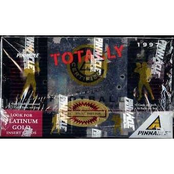 1997 Pinnacle Totally Certified Football Hobby Box