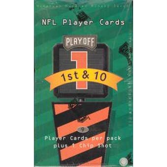 1997 Playoff First & Ten Football Hobby Box