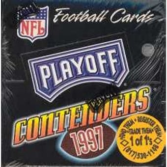 1997 Playoff Contenders Football Hobby Box