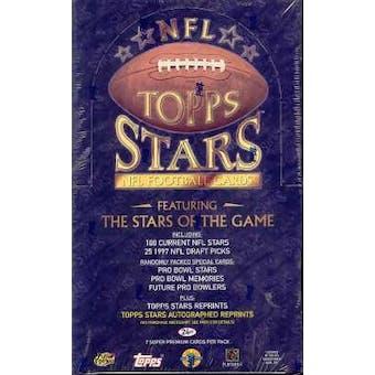 1997 Topps Stars Football Hobby Box