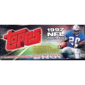 1997 Topps Football Factory Set (Box)