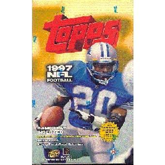 1997 Topps Football Hobby Box