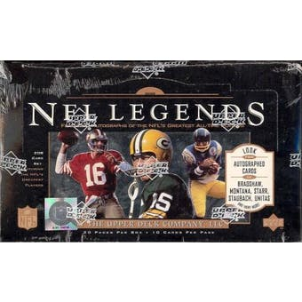 1997 Upper Deck Legends Football Retail Box