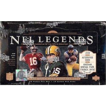 1997 Upper Deck Legends Football Hobby Box