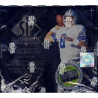 1997 Upper Deck SP Authentic Football Hobby Box