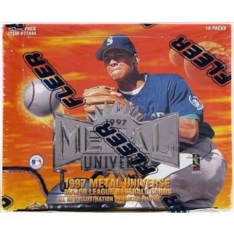 1997 Fleer/Skybox Metal Universe Baseball Retail Box