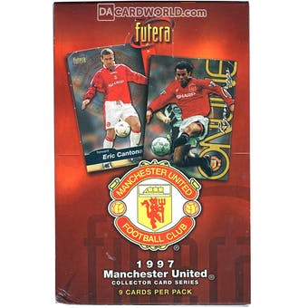 1997 Futera Manchester United Soccer Trading Card Box
