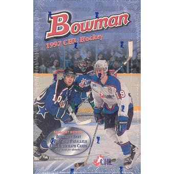 1997/98 Bowman CHL Prospects Hockey Hobby Box